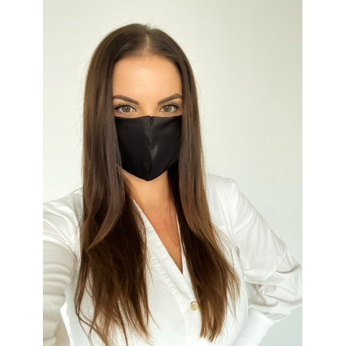 Beauty Pillow® Mouth Mask Black