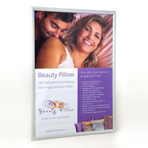 Beauty Pillow Poster with Click Frame