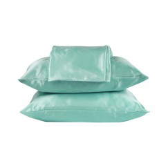 Beauty Pillow® Dekbedovertrek Set Petrol 200x200/220